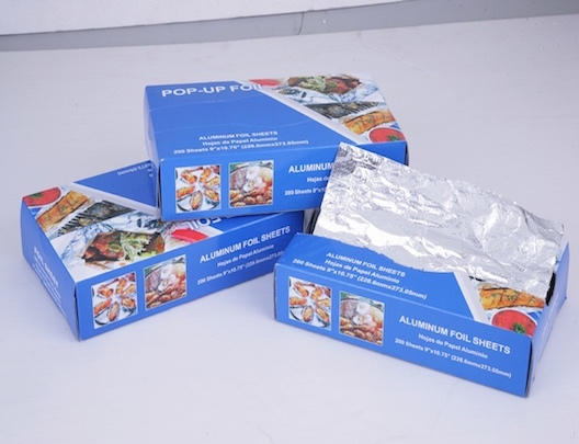 popup foil sheet for why yescups