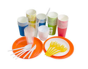 tableware for contact